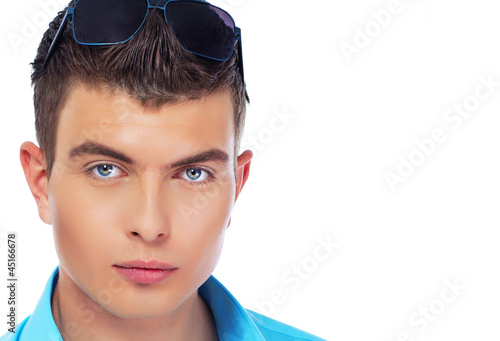 Young man in shades