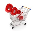 discount in shopping cart - 60%