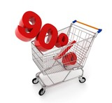 discount in shopping cart - 90%