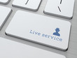 """Button on Keyboard: """"Live Service"""""""