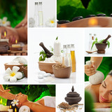 spa collage - 45169682