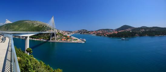 Franjo Tudman Bridge, Dubrovnik