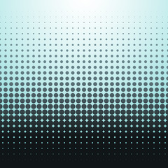 Blue halftone background