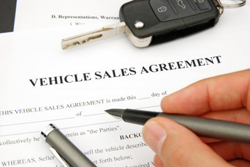 Form of Vehicle Sales Agreement
