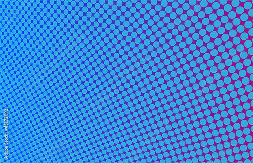 Vector abstraction. Twisted blue sheet with holes
