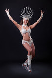 Samba Dancer in studio