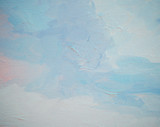 sky and clouds, çainting by oil on a canvas,  illustration,backg