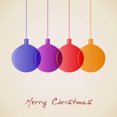 Elegant Christmas decoration background, vector