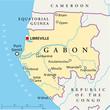 Gabon map (Gabun Landkarte)