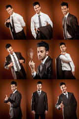 Businessman Collage