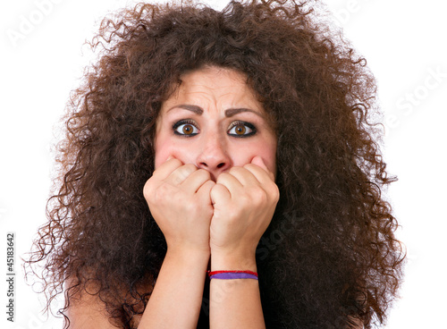 woman drama face