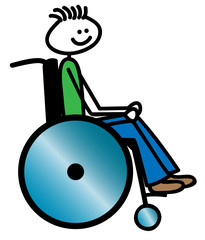Rollstuhlfahrer