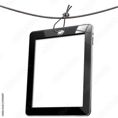 Blank Tag Tablet Computer