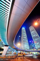 Shanghai urban street view