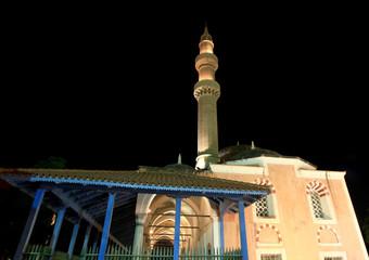Suleimans mosque minaret