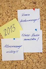Vorsätze 2013