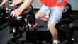 Lower Body Members in Gym