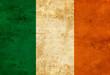 Leinwanddruck Bild - Irish flag