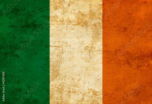 Leinwanddruck Bild Irish flag