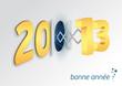 Carte de voeux 2013 - Bonne Année