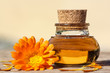 Ringelblume, wellness with calendula