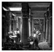 Leinwandbild Motiv Alexandria : Library - Bibliotheque - Antiquity Egypt