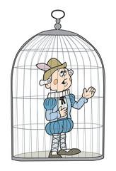 Amleto in gabbia
