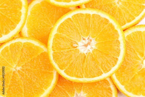 Oranges close up © Africa Studio