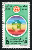 Ozone day emblem poster