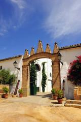 Cortijo andaluz, hacienda, bodega