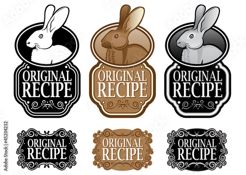 Original Recipe Rabbit version vertical seal