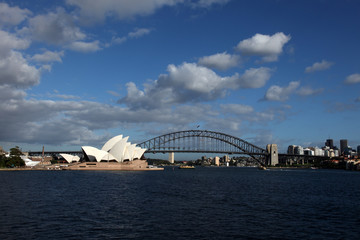 Sydney harbour at Morning