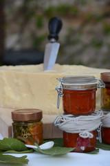 formaggio e mostarda