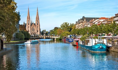 Strasbourg, quai des Bateliers.