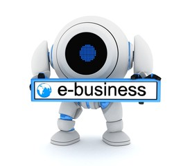 Robot and e-bussiness