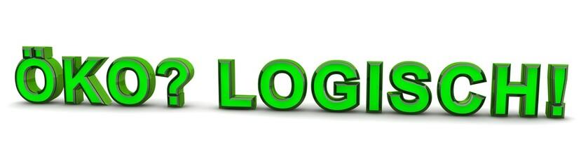 Öko? Logisch! green