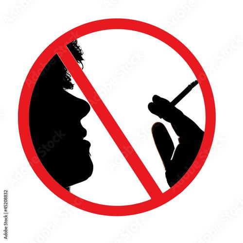 panneau interdiction de fumer photo libre de droits sur la banque d 39 images image. Black Bedroom Furniture Sets. Home Design Ideas