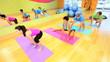 Healthy Lifestyle Keep Fit Class