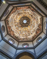 Brunelleschi's Dome in the Duomo at Florence