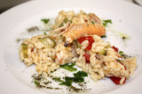 Risotto with prawns - 008