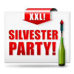 Silvesterparty! Button, Icon