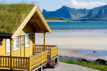 Ferienhaus auf den Lofoten