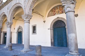 Prior palace. Viterbo. Lazio. Italy.