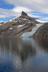 Glacier in Prins William Sound, Greenland