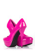 Pink women shoes.