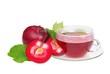 Tee Apfel -  tea from apple 01