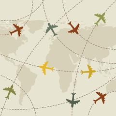 airplanes vintage