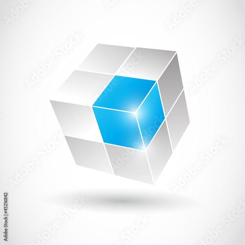 3D Business Cube