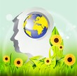 Ecology vector design