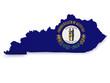 Kentucky Map 3d Shape